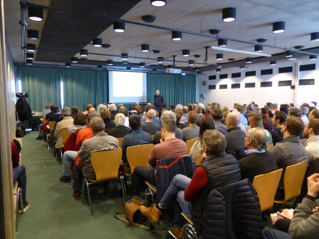 Vortrag vor Publikum